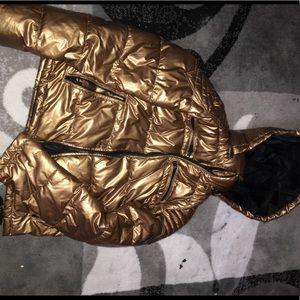 Guess Puffer Jacket Copper